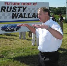 rusty wallace ford construction underway news newportplaintalk com rusty wallace breaking ground