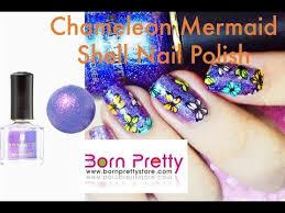 <b>Born Pretty 6ml Chameleon</b> Mermaid Shell Nail Polish in BO FS03 ...