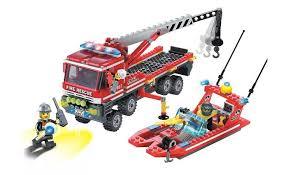 <b>Enlighten</b> Brick Fire Rescue (420 деталей) - Акушерство.Ru