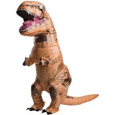 Jurassic World <b>T-Rex Adult</b> Inflatable Costume - Walmart.com ...
