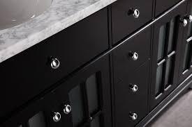 quot double bathroom vanity cabinet set