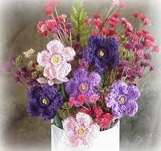 Image result for crochet spring flowers