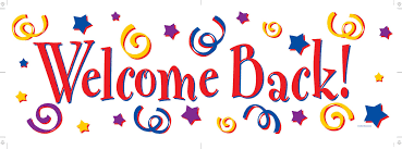 Image result for Clipart of welcome back to the garden