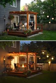 15 diy backyard and patio lighting projects backyard lighting ideas
