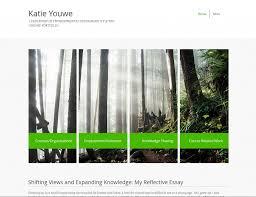 example eportfolios eportfolio support at tru leadership in environmental sustainability eportfolio