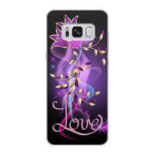 Чехол для Samsung Galaxy S8, объёмная печать <b>ЛЮБОВЬ LOVE</b> ...