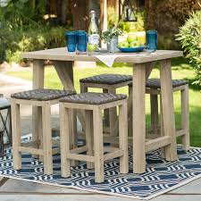 belham living matica all weather wicker bar height patio dining set seats 8 patio dining sets at hayneedle attractive high dining sets