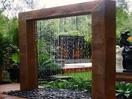 diy patio pond: outdoor wall water features diy outdoor water wall fountain