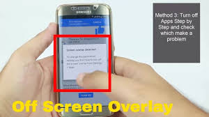 How to turn off screen overlay detected Any Android Phone - YouTube