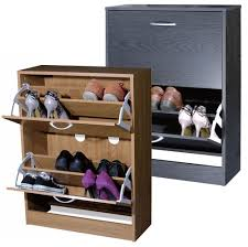 small entryway closed shoe rack storage with 2 drawer for small spaces ideas black color shoe rack storage sliding