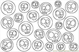 Small Picture Skulls Pop Art Coloring Pag Coloring Page Free Painting Coloring