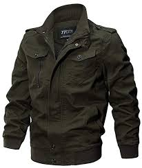 WS668 Mens <b>Spring Autumn</b> Cotton Multi-Pocket Washed Coat ...