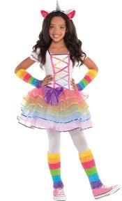 <b>Girls Rainbow Unicorn Costume</b> | Party City