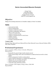 accountant resume resume template accountant resume sample pdf senior accountant resume sample