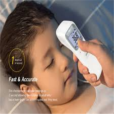 Digital <b>Non</b>-contact LCD IR Infrared Thermometer <b>Forehead Body</b> ...