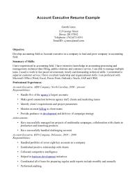 account executive resume example resume template info account executive resume sample make a best objective resumes advertising account executive resume account executive
