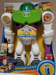 TOY STORY 4 IMAGINEXT <b>BUZZ LIGHTYEAR</b> ROBOT X <b>LARGE</b> ...