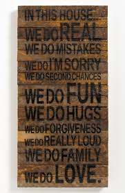 wood sign glass decor wooden kitchen wall: second nature by hand repurposed wood wall art