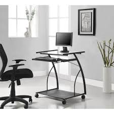 mobile computer cartdesk in black amazing home depot office chairs 4 modern