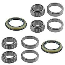 6 Piece Inner & Outer Wheel Bearing w/Seal Kit LH ... - Amazon.com