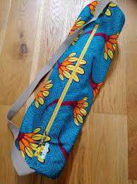 <b>African Motif</b> Yoga Bag - Yoga with Ingela in Ross