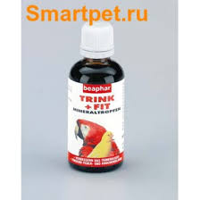 <b>BEAPHAR Trink</b> + Fit Birds – <b>Витамины</b> для птиц