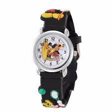<b>Mickey Mouse Cartoon</b> Watch Children <b>Girls</b> Fashion Clock ...