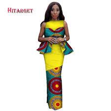 <b>Hitarget 2019 New</b> Design <b>African</b> Bazin Riche Dresses for Women ...