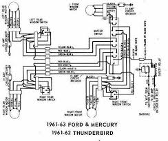 ford factory wiring diagrams 1966 ford thunderbird wiring diagram images diagram as well 1966 1961 62 ford thunderbird wiring diagram