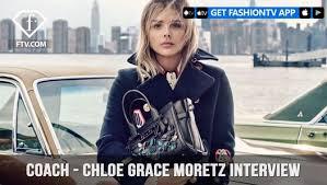 Chloe Grace Moretz Coach on <b>Coach The Fragrance</b> Interview ...