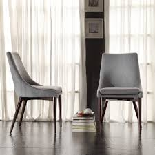 room ergonomic furniture chairs: flower pattern padded dining room chairs