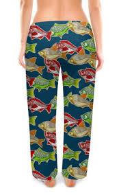 Женские Пижамные Штаны <b>Printio Рыбки</b>, Детская Одежда Россия