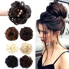 <b>AOSIWIG</b> Elastic Extensions Hair Elastic Band Updo Hairpieces ...