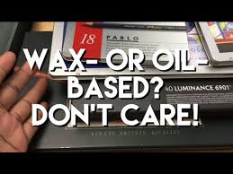 Wax or <b>oil</b> based <b>colored pencils</b>? DO NOT CARE! - YouTube