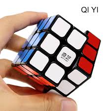 QIYI пазл 3x3x3 <b>Magic наклейки</b> в форме Куба скорость ...