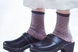 Femininity: with the perfect <b>sheer</b> socks for spring and <b>summer</b> ...