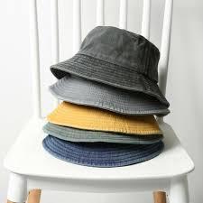 China <b>High Quality</b> Sun Jeans <b>Washed Cotton</b> Denim Bucket Hat ...
