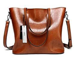 FNTSIC <b>Women's</b> PU Leather <b>Handbags</b> Elegant Ladies Shoulder ...