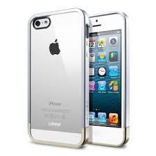 <b>Бампер</b> для iPhone 5 SPIGEN SGP Linear Crystal, цвет Серебро ...