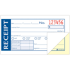 adams dcws money rent receipt books sheet s part view all adams products