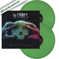 <b>IN FLAMES</b> | <b>Battles</b> GREEN VINYL - Nuclear Blast