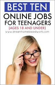 17 best ideas about online jobs for teens teen jobs best 10 online jobs for teenagers 18 and under workfromhome teens