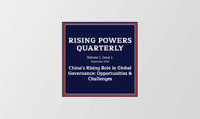 the changing role of in global environmental governance the changing role of in global environmental governance rising powers in global governance