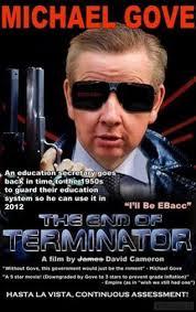 Michael Gove is The Terminator | The Gove Board | Pinterest via Relatably.com