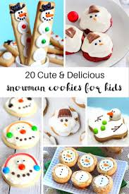 household dining table set christmas snowman knife:  amazing snowman cookies your kids will love delicious dessert for a fun winter theme