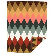 DEKORERA Throw - <b>diamond pattern</b> multicolor - IKEA