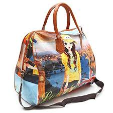 SHOPPOSTREET Polyester Digital Printed Travel <b>Small Hobo Bag</b> ...