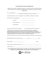 notarized letter template for child travel best business template notarized letter template for child travel letter template 2017 notarized letter template for child