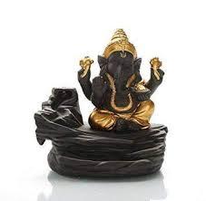 TUZECH Lord <b>Ganesh</b>/<b>Ganesha Backflow</b> Reverse <b>Incense Burner</b> ...