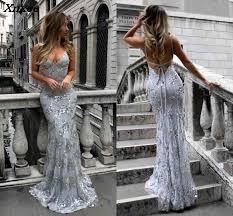2018 Sexy Graceful V Neck Off Shoulder Sequin <b>Dresses</b> Female ...